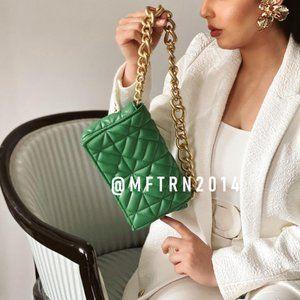 BLOGGER FAVE!!! ZARA Faux Leather Shoulder Bag